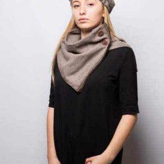 col en laine tweed style british