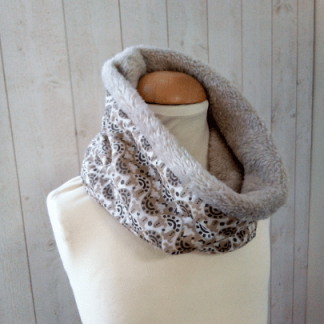 Snood Col Fille en Polaire