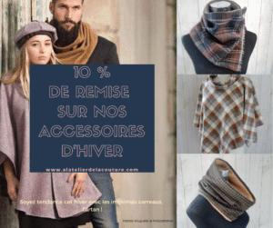 Accessoires d'hiver écharpes, col, polaire, Snood, poncho femme