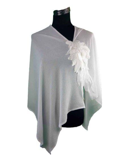 Poncho étole de mariage, A l'atelier de la couture votre spécialiste des accessoires pour la mariée