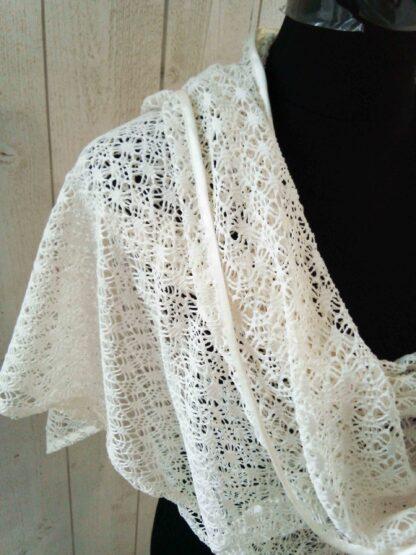 étole en crochet, châle en crochet a l'atelier de la couture