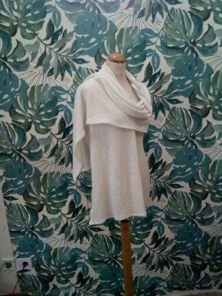 Châle en maille de jersey