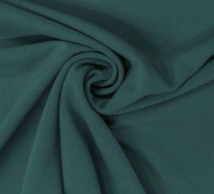 Robe en scuba vert émeraude