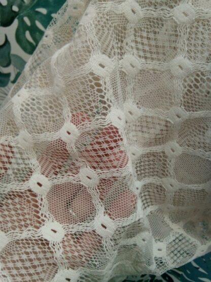 Étole châle crochet coton