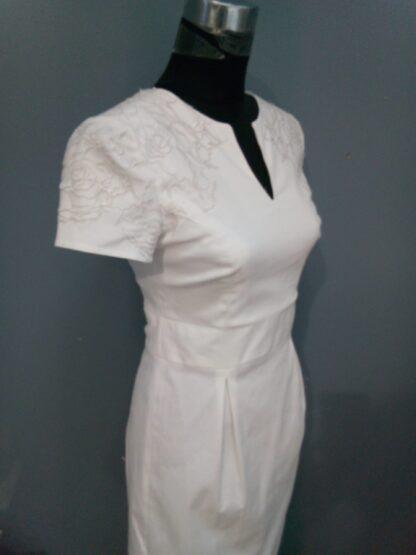 robe de mariée civile pour un mariage en mairie