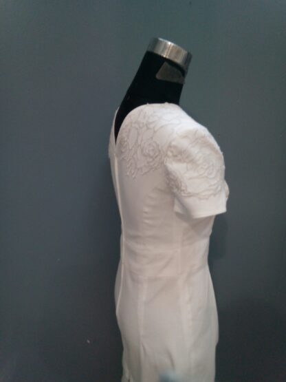 robe de mariée courte, robe de mariée civile